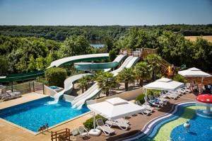 Camping Vendée 5 étoiles Yelloh! Village Le Pin Parasol - Espace aquatique chauffé