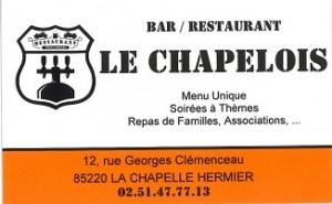 Restaurant Le Chapelois
