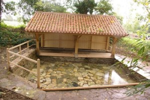 le lavoir restauré en 2010